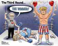 Trump Secound Round Winner