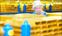 Queen Elizabeth's gold?