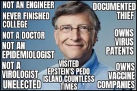 eugenicist Bill Gates