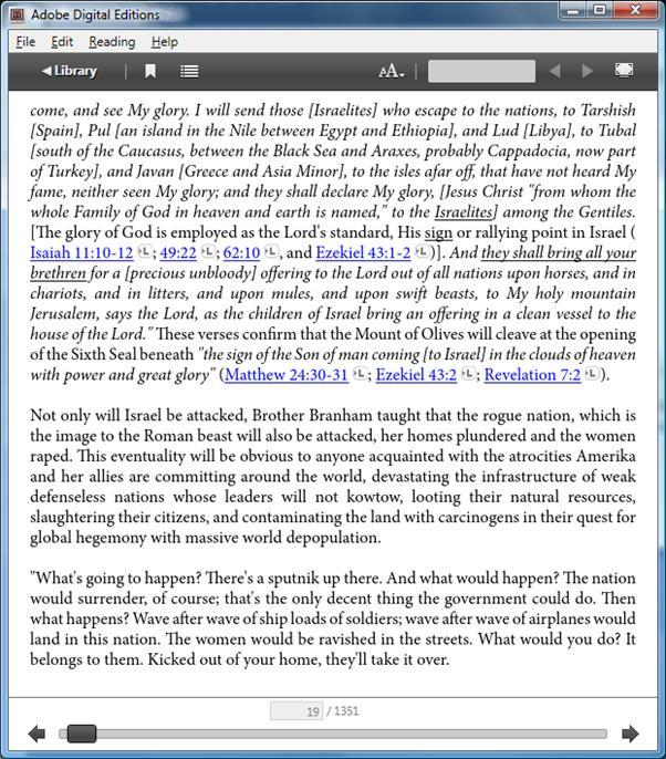 Links to Scripture references in main article on Adobe DE PC display