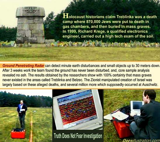 Richard Krege GPR at Treblinka